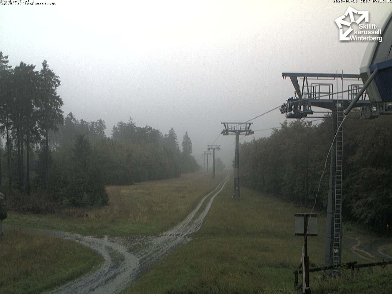 Skiliftkarussell Brembergkopf 1 6er Sesse Webcam