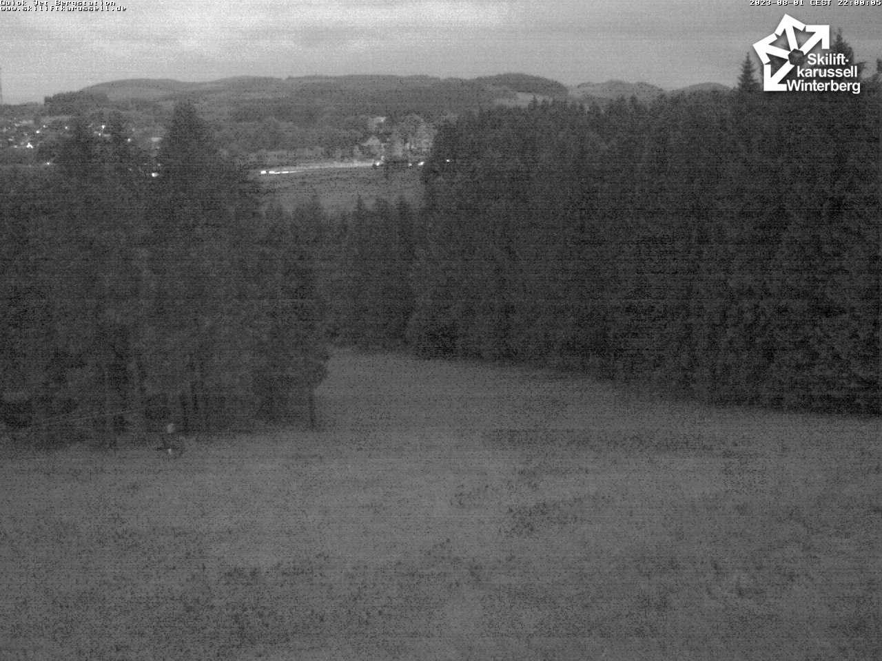 Webcam Quick Jet Bergstation - Skiliftkarussell Winterberg