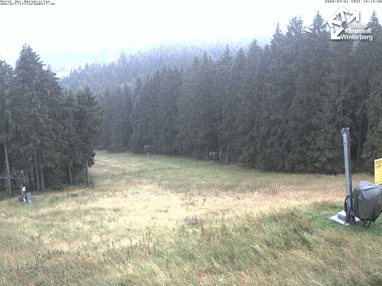 Skiliftkarussell Flutlicht Winterberg Webcam