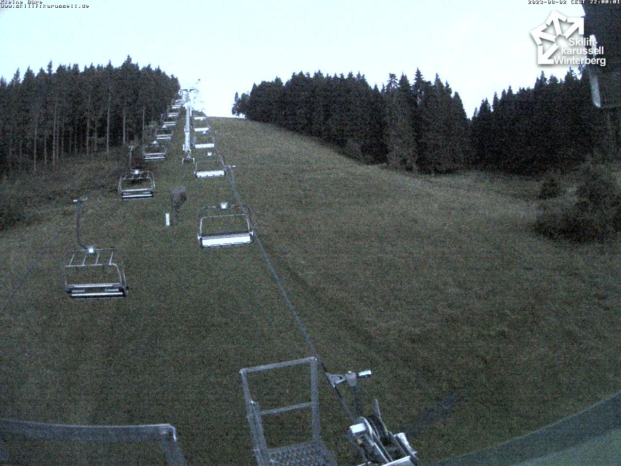 Webcam Kleine Büre - Skiliftkarussell Winterberg
