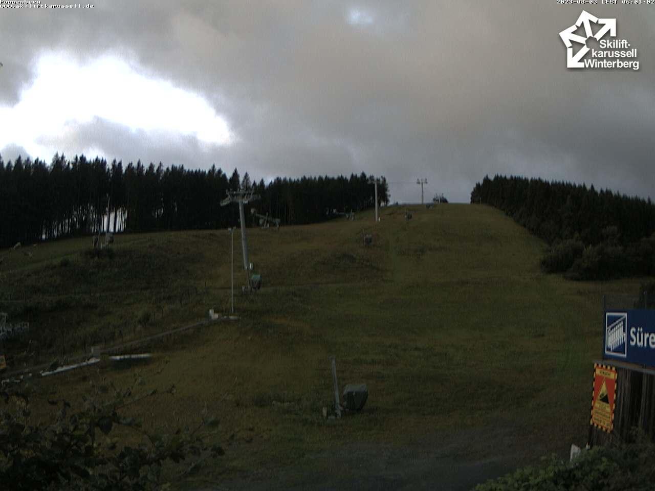 Skiliftkarussell Poppenberg Winterberg Webcam