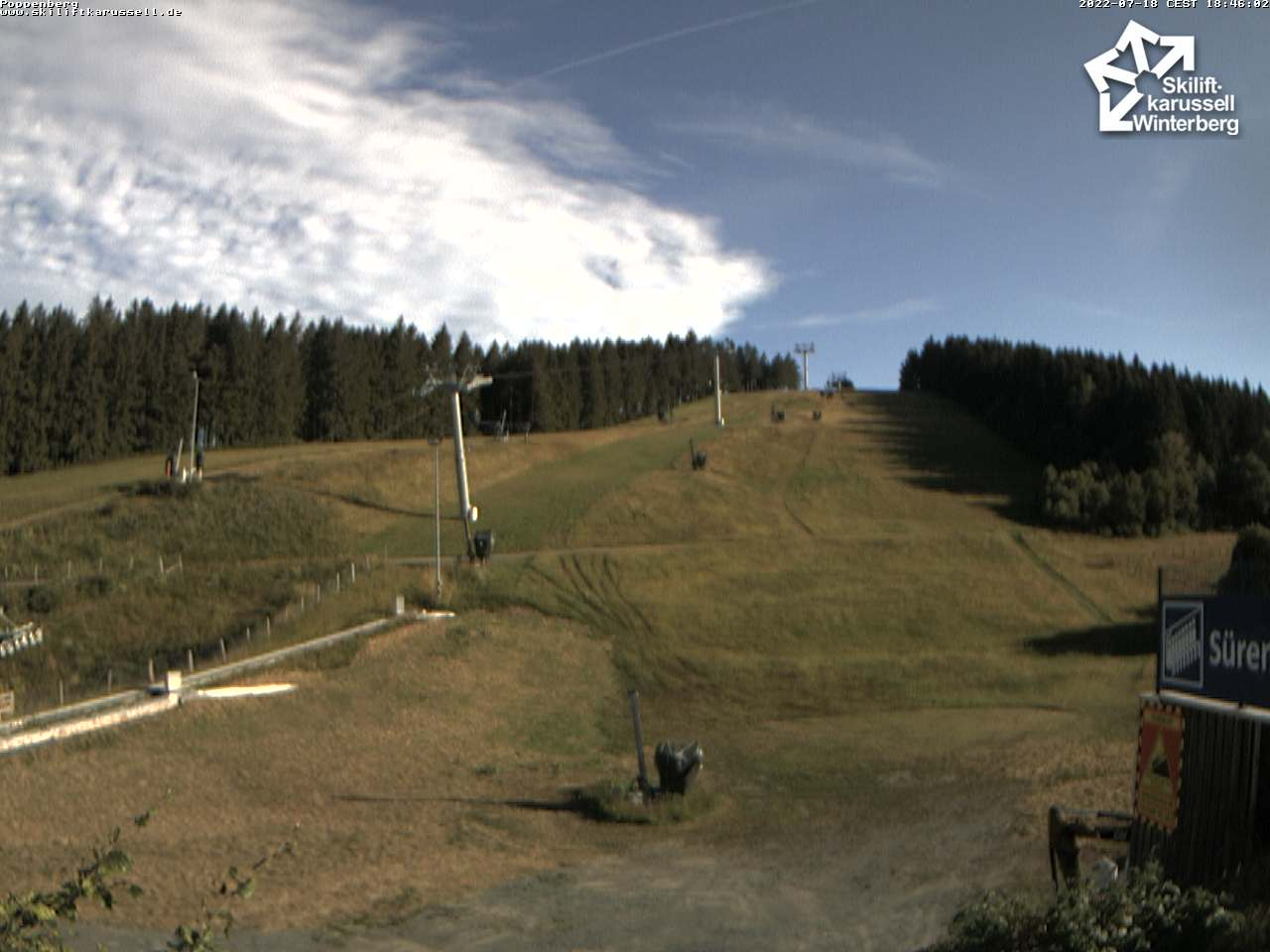 Webcam Skigebied Winterberg Poppenberg - Sauerland