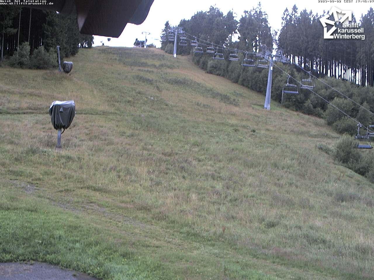 Webcam Quick Jet Talstation - Skiliftkarussell Winterberg