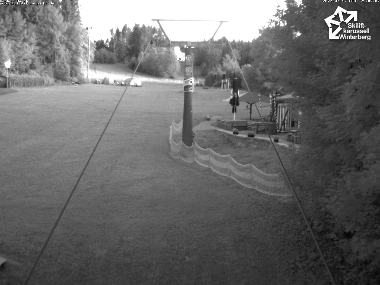 Webcam Rauher Busch - Skilifkarussell Winterberg