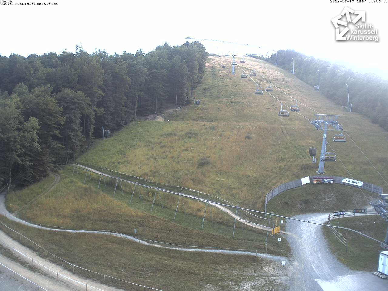 Slalomhang, Winterberg