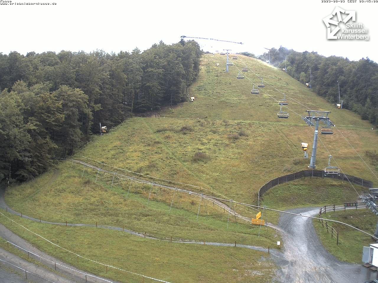 Webcam Slalomhang - Skilifkarussell Winterberg