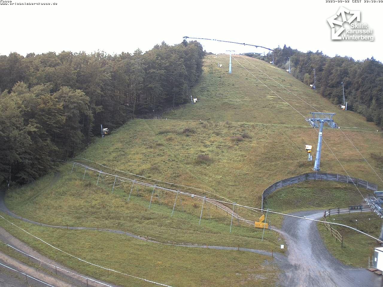 Webcam Slalomhang - Skiliftkarussell Winterberg